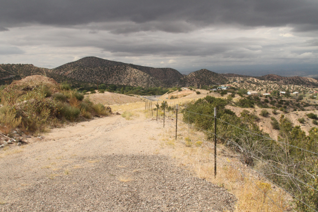 View from the High Road near Chimayo