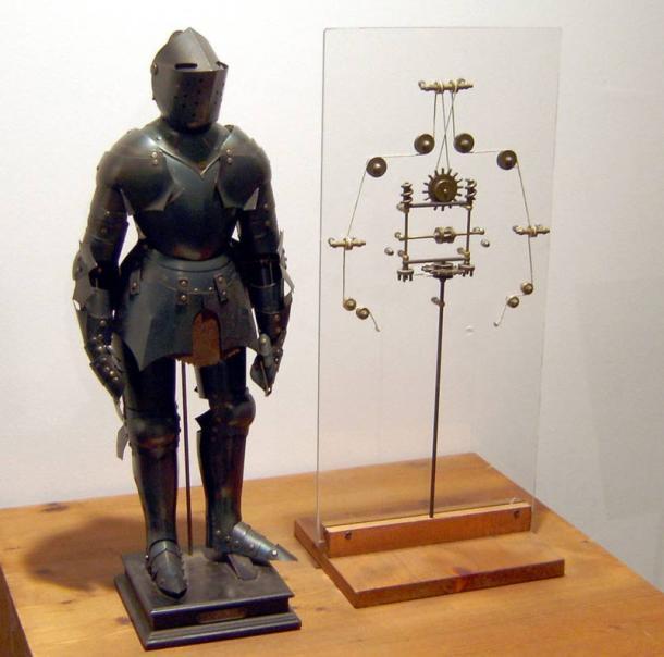 Model-of-a-robot--da-vinci