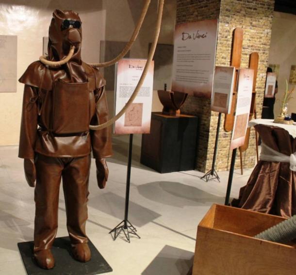 model-replica-of-da-Vinci-diving-suit