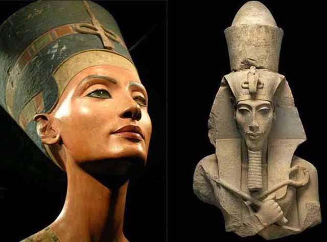 Nefertiti_Akhenaten