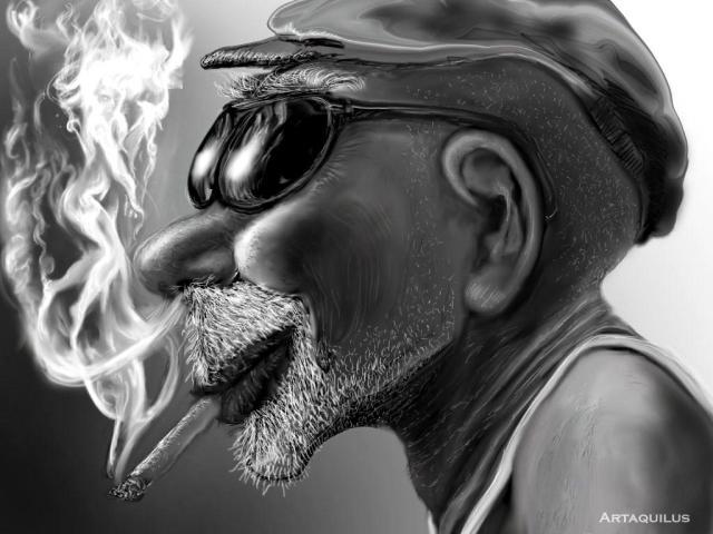 caricato-old-man